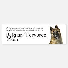 Belgian Tervuren Mom Car Car Sticker