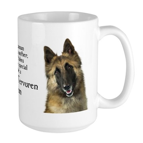 Belgian Tervuren Mom Large Mug