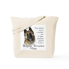 Belgian Tervuren Mom Tote Bag