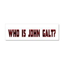 Who is John Galt Car Magnet 10 x 3