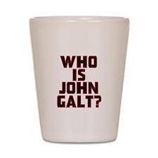 Who is John Galt Shot Glass