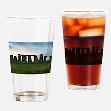 Cute Stonehenge Drinking Glass