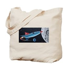 X-7 MOONROCKET Tote Bag
