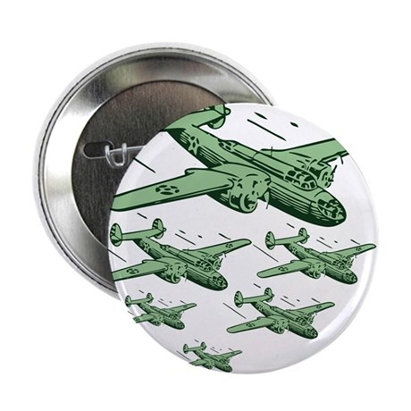 WWII Bomber Squad - USA Button