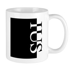 IUS Typography Mug