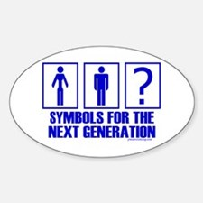 Symbols of Next Generation Oval Decal