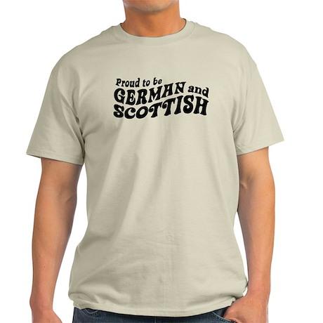 German and Scottish Light T-Shirt
