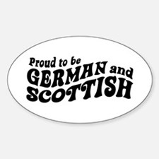 German and Scottish Decal