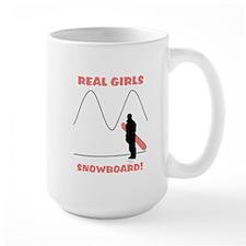 Real Girls Snowboard! Mug