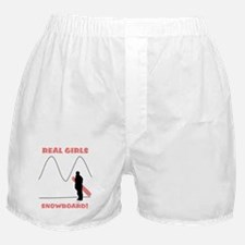 Real Girls Snowboard! Boxer Shorts
