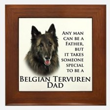 Tervuren Dad Framed Tile