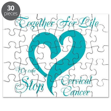 Stop Cervical Cancer Puzzle