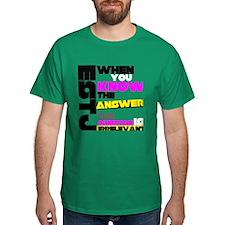 T-Shirt: ESTJ