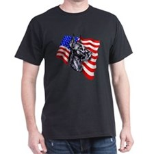 Patriot Dane Black T-Shirt