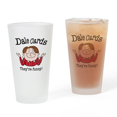 Dale Cards Drinking Glass