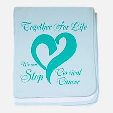 Stop Cervical Cancer baby blanket
