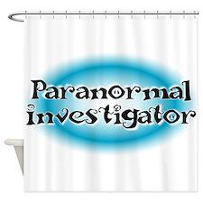 Paranormal Investigator Shower Curtain