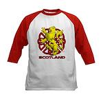 Kids yellow lion Baseball Jersey
