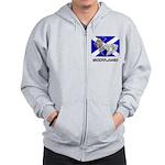 Scot Mermaid Zip Hoodie