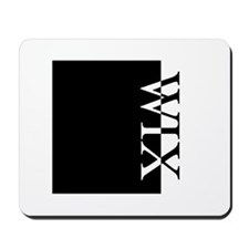 WIX Typography Mousepad