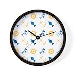 Beach Marine Life Wall Clock