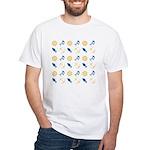 Beach Marine Life White T-Shirt