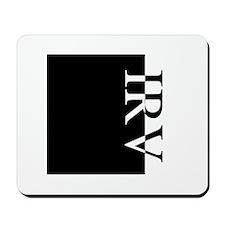 IRV Typography Mousepad