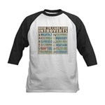 Care for Introverts Kids Baseball Jersey