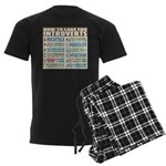Care for Introverts Men's Dark Pajamas