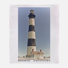 Bodie Island Lighthouse Throw Blanket