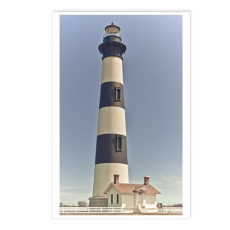 Bodie Island Lighthouse Postcards (Package of 8)