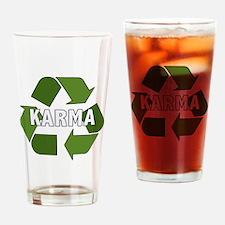 Cute Good karma Drinking Glass