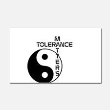 Tolerance Matters Car Magnet 20 x 12