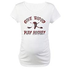 Give Blood Play Hockey Shirt