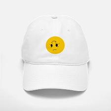 Sad OK Meme Smiley Baseball Baseball Cap