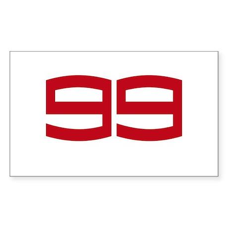 JL99 2012 Sticker (Rectangle 10 pk)