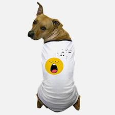 Singing Smiley Dog T-Shirt