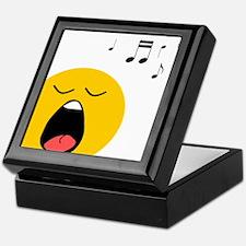 Singing Smiley Keepsake Box