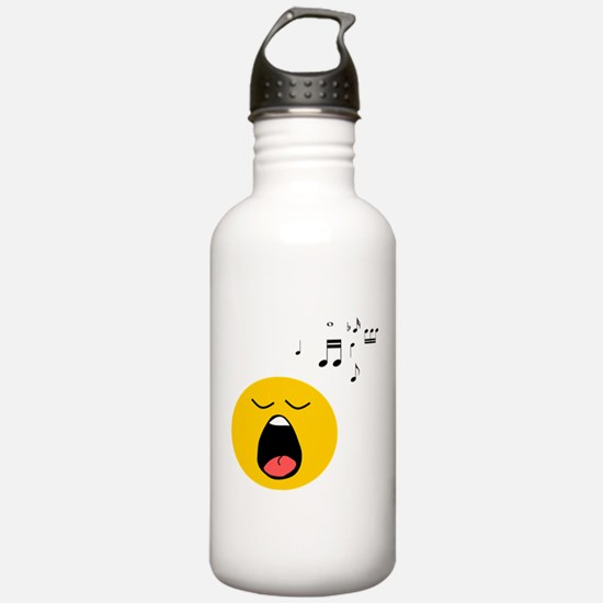 Singing Smiley Sports Water Bottle
