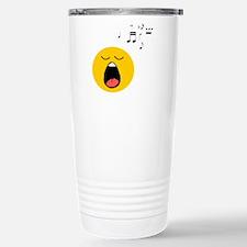 Singing Smiley Travel Mug
