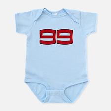 JL99 2012 Chrome Infant Bodysuit