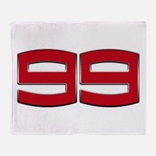 JL99 2012 Chrome 3D Throw Blanket