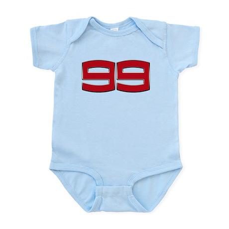 JL99 2012 Chrome 3D Infant Bodysuit