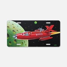 X-30 SPACE ROCKET Aluminum License Plate