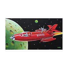 X-30 SPACE ROCKET 38.5 x 24.5 Wall Peel
