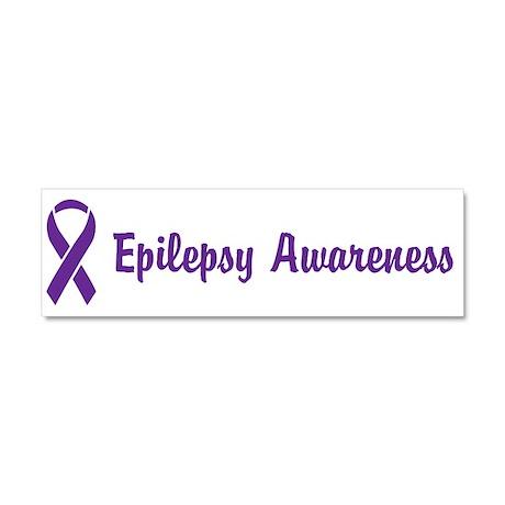 Epilepsy Awareness Car Magnet 10 x 3