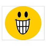 Grinning Smiley Small Poster