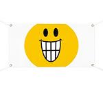 Grinning Smiley Banner