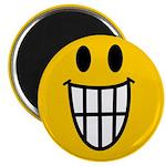 Grinning Smiley Magnet