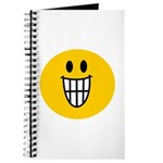 Grinning Smiley Journal